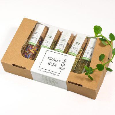 Kraut-Box Kräuter vom Niederrhein