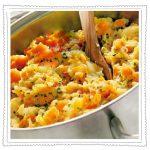 Möhren Untereinander mit Suppen Jedöns