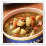 Erbseneintopf mit Suppen Jedöns