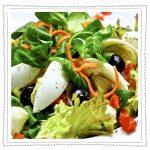 Salatkräuter mit Jemüse Kladderadatsch